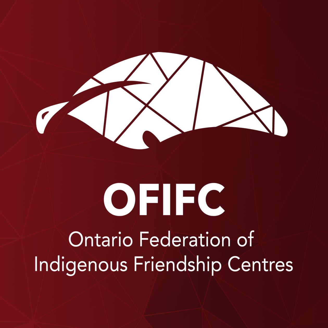 OFIFC Logo on red background